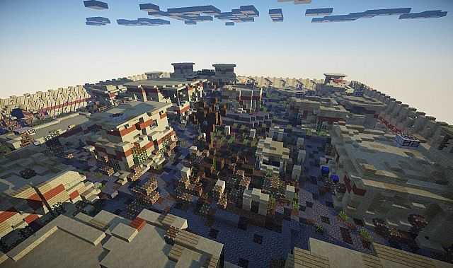 how to make slums minecraft