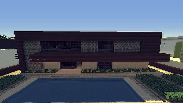 Humble Modern Home Wok Minecraft Project