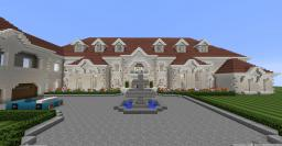 Private beach mansion Minecraft Map & Project