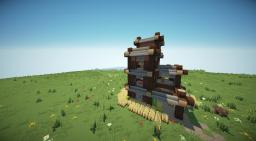 A House for a Hobo. Minecraft Project