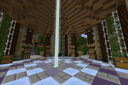Large Server Spawn Minecraft Map & Project