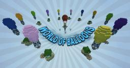 World Of Balloons - SkyWars Map Minecraft Map & Project
