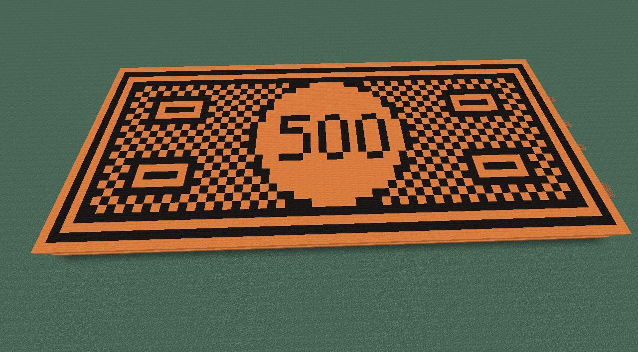 500 monopoly money