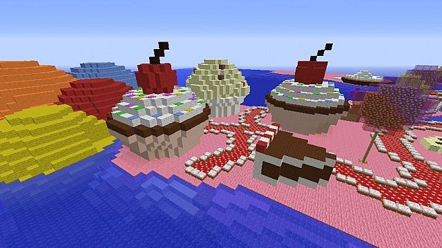 Candy Land Minecraft Project