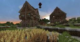 Bridgewater || Tavern & Farmer house Minecraft