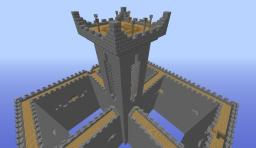 Castle Walls PvP Map Minecraft Project