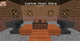 [14w07a+] HOW TO MAKE CUSTOM MUSIC DISCS (WITHOUT RESOURCEPACKS AND MODS) Minecraft Map & Project