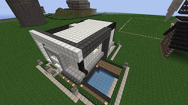 modern home name reality minecraft project