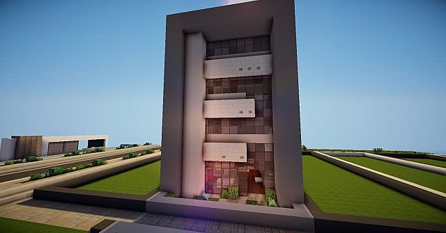 Modern Townhouse Minecraft Project
