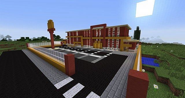 Modern Mcdonalds And Coffee Shop Minecraft Project
