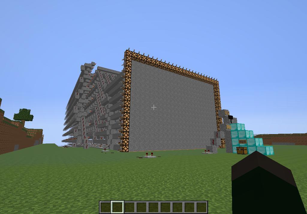 minecraft working tv minecraft project