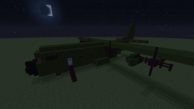 Titan GTA 5 (Hercules C130) Minecraft Project