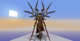 3D Study/Fanart: Uriel-The Fire of God by Daniel Kamarudin