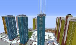 The city of Glasgow Minecraft