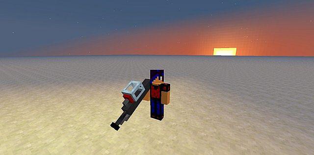 Bedrock Breaker Gun Model