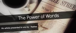 The Power of Words Minecraft Blog