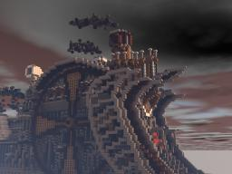 Steampunk locomotive Minecraft
