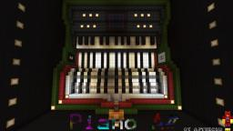 Piano A#   Playable Recordable and Fully Automatic Minecraft Map & Project