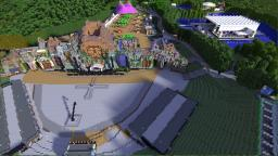 Tomorrowland Festival Belgium 2013 Minecraft Project