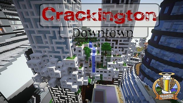 Die Downtown von Crackington