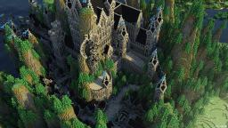 Cynea | Medieval Castle & Small Town Minecraft Map & Project