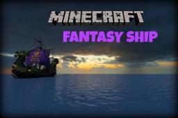 Fantasy Ship Minecraft Map & Project