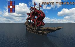 Forte Tubarão - Fantasy Ship Minecraft Project