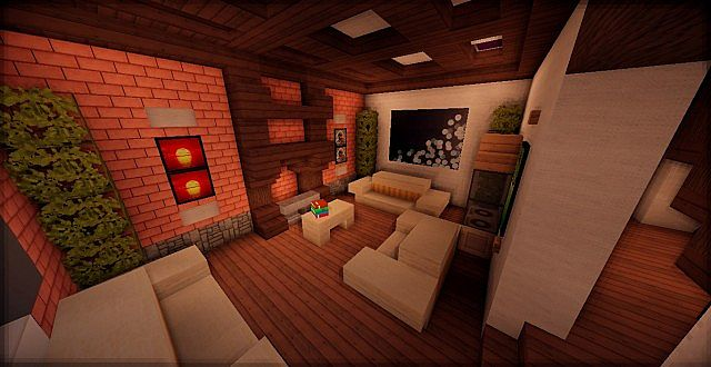 modern house bedroom trad house wok minecraft project 12587
