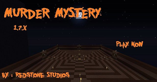 Murder Mystery Minecraft Multiplayer MiniGame Minecraft Project - Minecraft spielen kostenlos ohne download deutsch