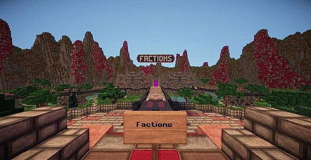 Hub - Factions view