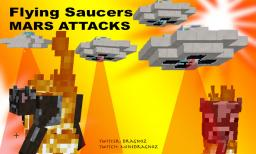 Flying Saucers in minecraft 1.8 Minecraft Project