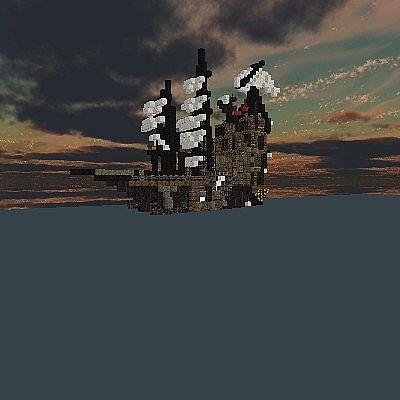 Metalbeards Sea Cow From The Lego Movie Minecraft Map