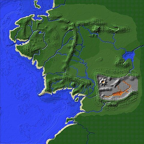 Middle earth custom map 2040x2040 blocks minecraft project middle earth custom map 2040x2040 blocks gumiabroncs Images