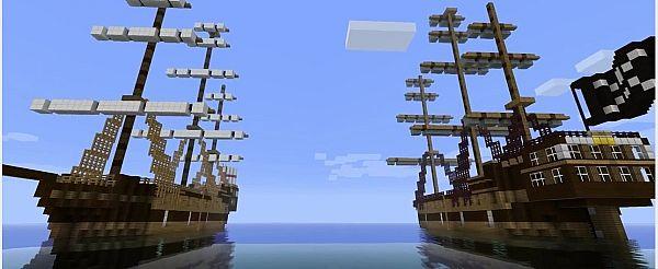 Мод На Пиратский Корабль На Майнкрафт 1.5.2
