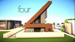 'Four'  Showcased by Keralis Home by xTouk Minecraft