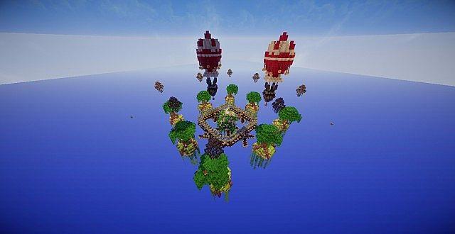 Ballons Skywars Map