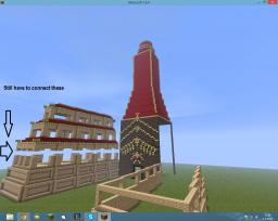 Avatar: The last Airbender - Fire Nation Capital Minecraft Map & Project