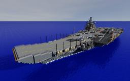 Ulyanovsk Improved class aircraft carrier Minecraft Map & Project