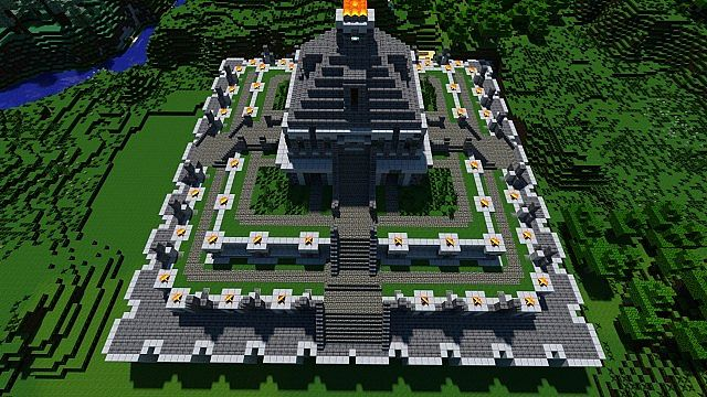 Ancient Temple Pvp Arena Minecraft Project
