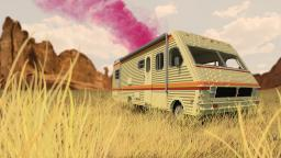 The RV from Breaking Bad Minecraft