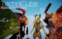 Skybridge Wars - Titans Minecraft