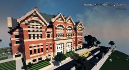 Ironhurst Elementary School Minecraft Map & Project