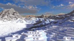The Snow Barrier Minecraft Map & Project