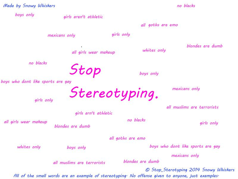 ♫ωнιsкεяs♫ Stop Stereotyping. ~Popreel~ Minecraft Blog