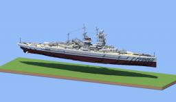 Admiral Graf Spee Pocket Battle ship Minecraft Project