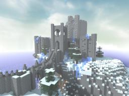 [World Download] College of Winterhold+Town+Custom Landscape, Skyrim Minecraft Map & Project