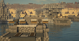Omaha Beach - D-day - Firefly Project by DoubleLz Minecraft Map & Project