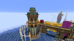 """""""Venia"""" The City of the Three Minecraft Map & Project"""