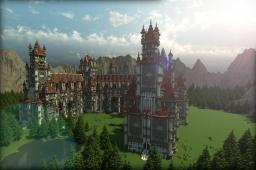 Showcase Build | Palace Of Sakara Minecraft