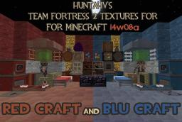Team Fortress 2 Texture Packs RED and BLU Minecraft